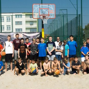 Beach Basketball w Słupcy